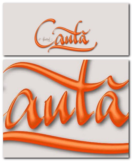 Caută (search) digital calligraphy Google wallpaper by florinf