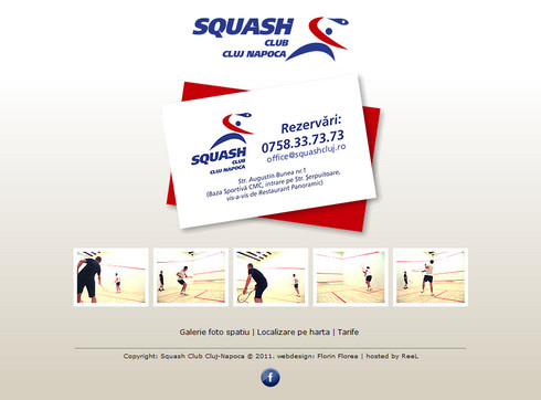 site-ul Squash Club