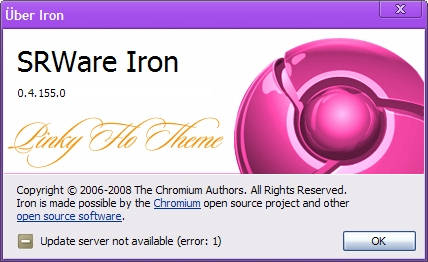 Pinky Flo theme for Chromium browsers